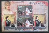 Poštovní známky Burundi 2012 Umění, Mary Cassatt DELUXE Mi# 2331,2333 Kat 10€