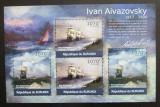 Poštovní známky Burundi 2012 Umění, Ivan Ajvazovskij DELUXE Mi# 2339-40 Kat 10€