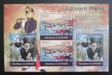 Poštovní známky Burundi 2012 Umění, Edouard Manet DELUXE Mi# 2315,2317 Kat 10€