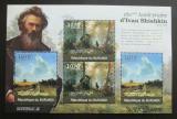 Poštovní známky Burundi 2012 Umění, Ivan Šiškin DELUXE Mi# 2319,2321 Kat 10€