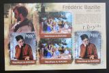 Poštovní známky Burundi 2012 Umění, Frédéric Bazille DELUXE Mi# 2360,2362 Kat 10€
