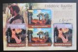 Poštovní známky Burundi 2012 Umění, Frédéric Bazille DELUXE Mi# 2359,2361 Kat 10€