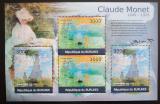 Poštovní známky Burundi 2012 Umění, Claude Monet DELUXE Mi# 2357-2358 Kat 10€