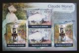 Poštovní známky Burundi 2012 Umění, Claude Monet DELUXE Mi# 2355-56 Kat 10€