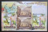 Poštovní známky Burundi 2012 Umění, Camille Pissarro DELUXE Mi# 2344,2346 Kat 10€