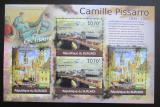 Poštovní známky Burundi 2012 Umění, Camille Pissarro DELUXE Mi# 2343,2345 Kat 10€