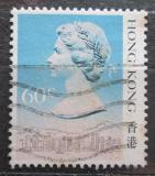 Poštovní známka Hongkong 1987 Královna Alžběta II. Mi# 510 I