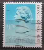 Poštovní známka Hongkong 1987 Královna Alžběta II. Mi# 516 I