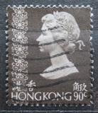 Poštovní známka Hongkong 1981 Královna Alžběta II. Mi# 375