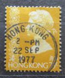 Poštovní známka Hongkong 1977 Královna Alžběta II. Mi# 335 v