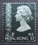 Poštovní známka Hongkong 1975 Královna Alžběta II. Mi# 303 v y