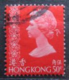 Poštovní známka Hongkong 1973 Královna Alžběta II. Mi# 274 X