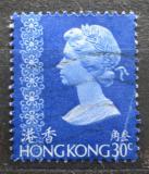 Poštovní známka Hongkong 1973 Královna Alžběta II. Mi# 272