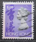 Poštovní známka Hongkong 1992 Královna Alžběta II. Mi# 661