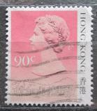 Poštovní známka Hongkong 1987 Královna Alžběta II. Mi# 513 I