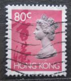 Poštovní známka Hongkong 1992 Královna Alžběta II. Mi# 658