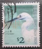 Poštovní známka Hongkong 2006 Volavka stříbřitá Mi# 1394