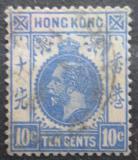 Poštovní známka Hongkong 1912 Král Jiří V. Mi# 103