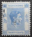 Poštovní známka Hongkong 1946 Král Jiří VI. Mi# 151 III x A