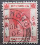 Poštovní známka Hongkong 1948 Král Jiří VI. Mi# 147 III x A
