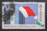 Poštovní známka Hongkong 1990 Vánoce, dětská kresba Mi# 602