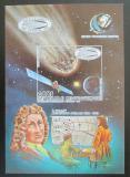 Poštovní známka SAR 1985 Edmond Halley neperf. Mi# Block 357 B Kat 20€