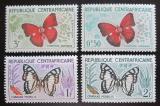 Poštovní známky SAR 1961 Motýli Mi# 4-7
