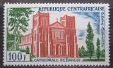 Poštovní známka SAR 1964 Katedrála v Bangui Mi# 52