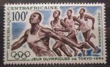 Poštovní známka SAR 1964 LOH Tokio, běh Mi# 61