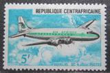 Poštovní známka SAR 1967 Letadlo Douglas DC-4 Mi# 146