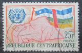 Poštovní známka SAR 1961 Mapa a vlajka Mi# 19