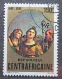 Poštovní známka SAR 1980 Vánoce, umění, Raffael Mi# 703