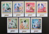 Poštovní známky Guinea 1983 Robert Koch, Objev TBC TOP SET Mi# 947-53 Kat 24€