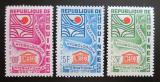 Poštovní známka Guinea 1966 Hydrologická dekáda OSN Mi# 393-95