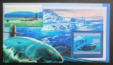 Poštovní známka Guinea 2006 Ponorka Virginia Mi# Block 1055