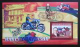Poštovní známka Guinea 2006 Harley Davidson Mi# Block 1086