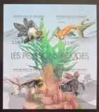 Poštovní známky Burundi 2012 Ryby neperf. Mi# 2783-86 B