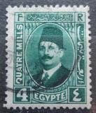 Poštovní známka Egypt 1933 Král Fuad Mi# 123 b