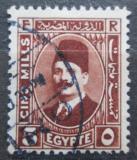 Poštovní známka Egypt 1927 Král Fuad Mi# 125