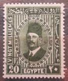 Poštovní známka Egypt 1927 Král Fuad Mi# 130 a