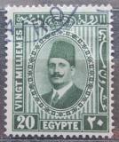 Poštovní známka Egypt 1929 Král Fuad Mi# 130 b