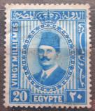 Poštovní známka Egypt 1932 Král Fuad Mi# 131