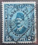 Poštovní známka Egypt 1929 Král Fuad Mi# 133 b