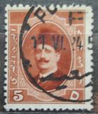 Poštovní známka Egypt 1923 Král Fuad Mi# 86