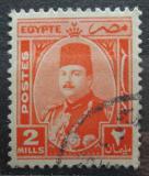 Poštovní známka Egypt 1944 Král Farouk Mi# 269