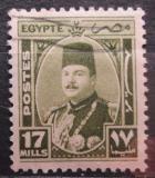 Poštovní známka Egypt 1944 Král Farouk Mi# 275