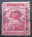 Poštovní známka Egypt 1914 Sfinga Mi# 48