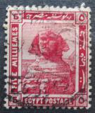 Poštovní známka Egypt 1921 Sfinga Mi# 58