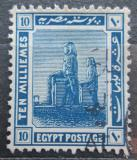 Poštovní známka Egypt 1921 Théby Mi# 59