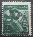 Poštovní známka Egypt 1953 Farmář Mi# 398
